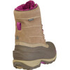 The North Face W's Chilkat III Removable Cub Brown/Dark Purple
